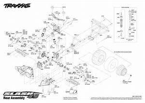 Traxxas Stampede 2wd Parts Diagram