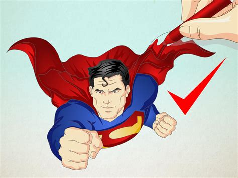 draw superman  steps  pictures wikihow