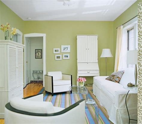 trick a small space into feeling bigger living room