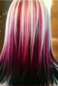 Hair Color Raspberry Sundae