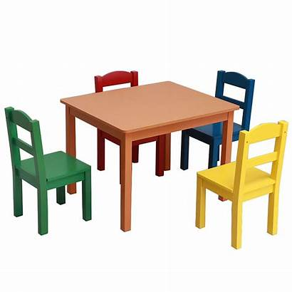 Chairs Table Children Toddler Play Multiple Wooden