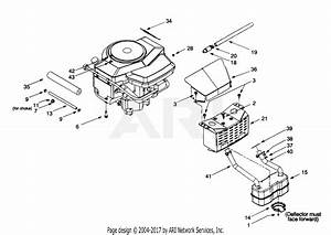Troy Bilt 13aq609g063  2000  Parts Diagram For Muffler