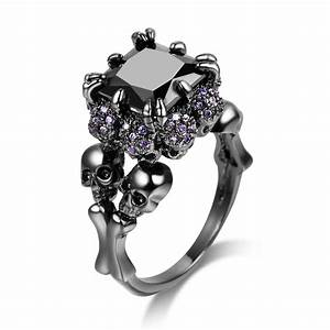 15 best ideas of gothic engagement rings for women With womens gothic wedding rings