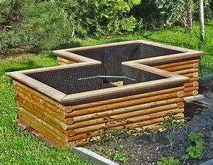 Bausatz Fur Hochbeet Hochbeet Zum Selberbauen Aus L Rchenholz Roh