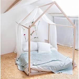 Lit Cabane Bebe : lit cabane dreamer pour enfant structure en bois de h tre par blomkal ~ Teatrodelosmanantiales.com Idées de Décoration