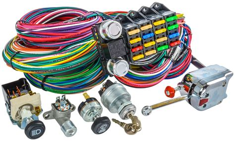 Universal Automotive Wiring Harnes Kit by Pyrometer Wire Harness Wiring Library