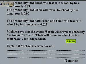 Probability Exam Questions