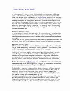 reflective narrative essay ideas docoments ojazlink With structured reflective template