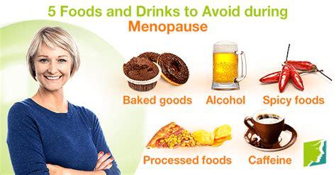 foods  drinks  avoid  menopause