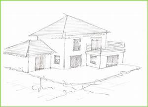 belle dessin facile de l interieur de maison interieur With dessin de belle maison