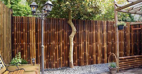 konsep terpopuler cat pagar bambu minimalis