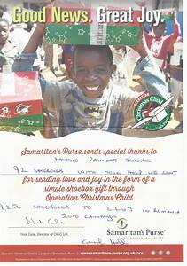 Operation Christmas Child Appeal Update | Harton Primary ...