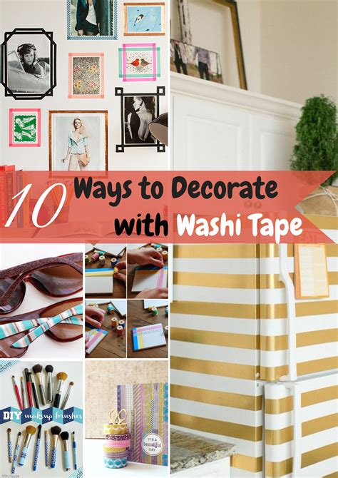 how to decorate with washi washi diy projects looking fly on a dime