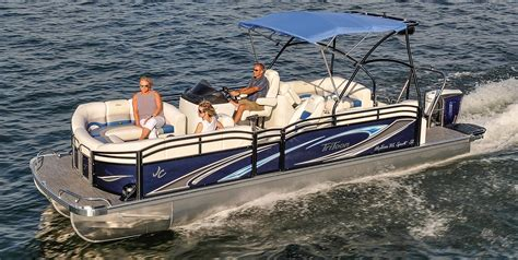 Tri Pontoon Fishing Boats by Sunlounger Pontoon Boats Jc Tritoon Marine