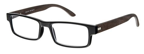 Oakland Reading Glasses In Black And Dark Red 150 3