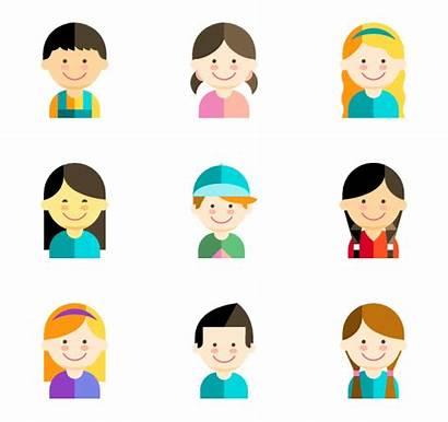 Kid Avatars Child Face Clipart Icons Flaticon