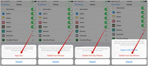 remove iphone from icloud how to delete icloud account on iphone in ios 9 imobie inc