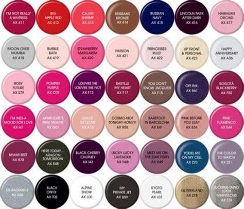 opi color names axxium soak gel colors opi nail fashion