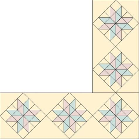 quilt border patterns 8 pointed quilt pattern quilts patterns