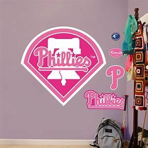 Philadelphia Phillies Pink Logo Wall Decal | Shop Fathead ...