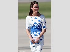The Duchess of Cambridge and Prince William visit air