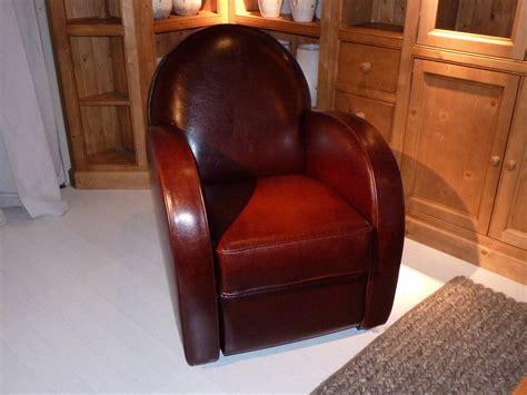 fauteuil club en cuir chocolat harvard maisons du monde