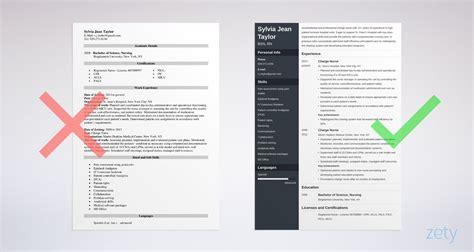 charge nurse resume examples  job description tips