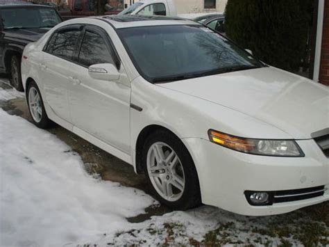 Find Used 2007 Acura Tl Base Sedan 4-door 3.2l In Silver
