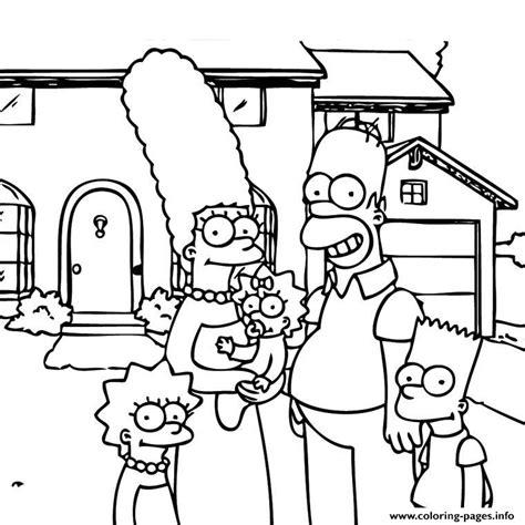 Homer Kleurplaat by Print En Famille Coloring Pages Coloring Book