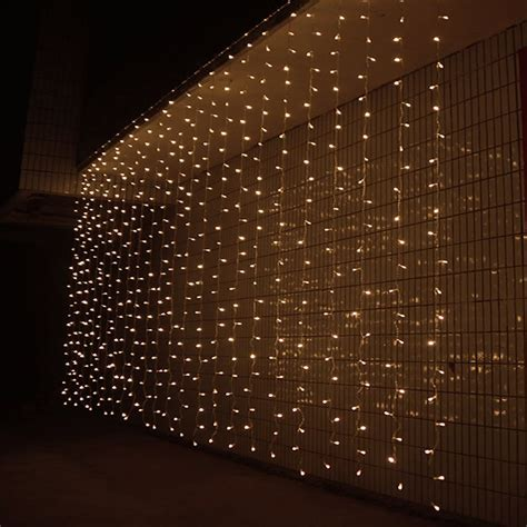 3m x 3m 300 led outdoor window curtain icicle christmas