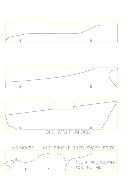 Pinewood Derby Template Best 25 Pinewood Derby Templates Ideas On