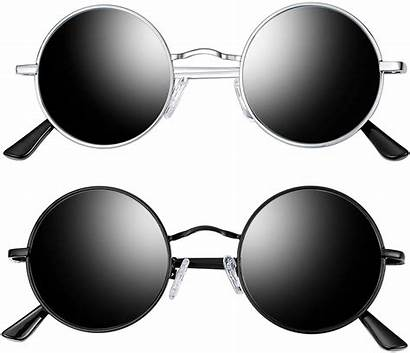 Sunglasses Round Polarized Glasses Sun Circle Joopin