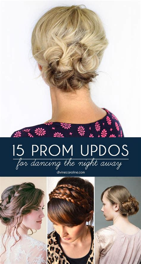 gorgeous prom updos  dancing  night  morecom