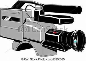 Vectors of Video camera csp13208535 - Search Clip Art ...