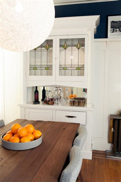 modern craftsman dining room  hgtv