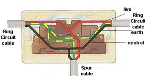home wiring guide ring mains  spurs