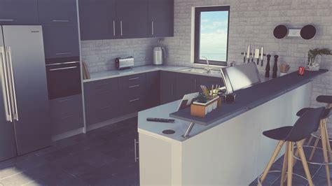 kitchen design shows artstation modern kitchen design danny blicher 1352