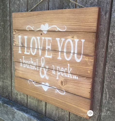 rustic charm  diy wood signs  hang   home