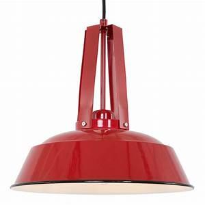 Lampadaire Industriel Pas Cher : lampadaire industriel rouge ~ Dailycaller-alerts.com Idées de Décoration