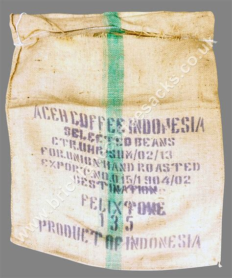 Green coffee is simply coffee beans that haven't been through the roasting process. Indonesia Coffee Sack Green Stripe Tucked Inn Coffee Sack - Brick Lane Coffee Sacks