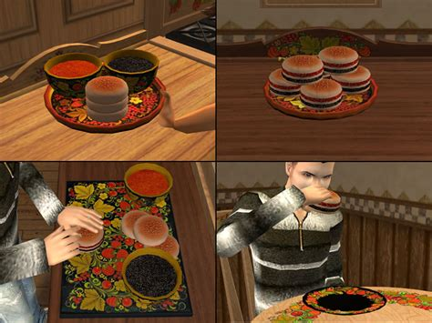 cuisine sims 3 mod the sims food pack part2 6 meals on