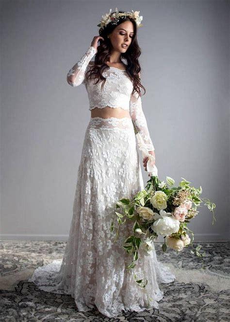 trending top   piece wedding dresses
