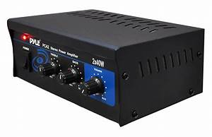 Amazon Com  Home Audio Power Amplifier System