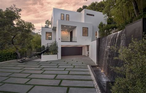 cherokee contemporary modern home  beverly hills
