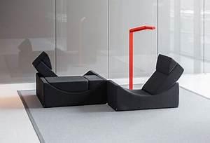 Canape Design Et Confortable : canap modulable noir lina ultra confortable et design ~ Teatrodelosmanantiales.com Idées de Décoration
