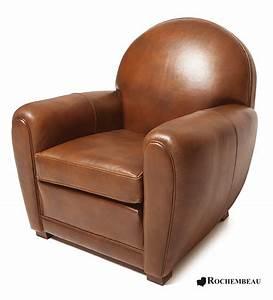 Fauteuil Mousse Fille : fauteuil club newquay fauteuil club en cuir basane rochembeau ~ Teatrodelosmanantiales.com Idées de Décoration