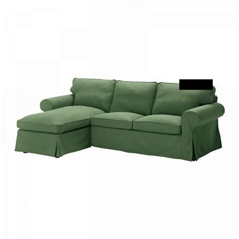 Ikea Ektorp 2 Seat Loveseat W Chaise Cover 3-seat