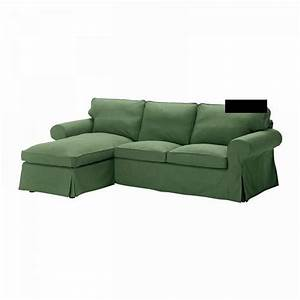 Ikea ektorp 2 seat loveseat w chaise cover 3 seat for Slipcovers for sectional sofa with chaise