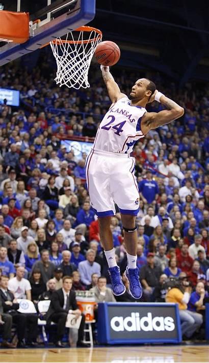 Kansas Basketball American Dunk Ku Allen Head