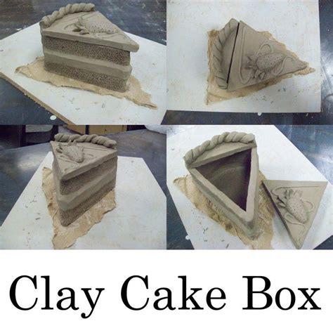 clay cake box  airixaram clay projects art class